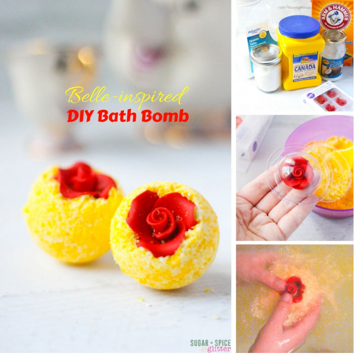 Gorgeous beauty and the best DIY bath bombs plus 17 more bath bomb recipes to inspire you