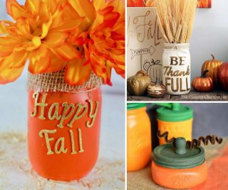 15 Cheap Mason Jar Crafts For Fall That Will Warm Your Home