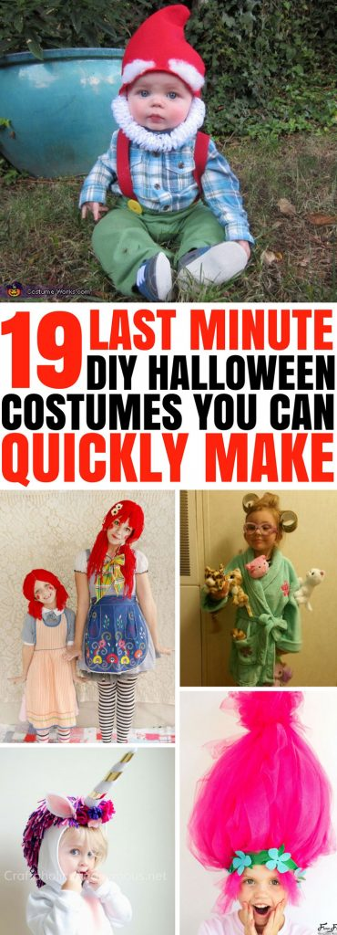 19 last minute awesome diy halloween costumes you can quickly make pin these simple diy halloween costumes solutioingenieria Images
