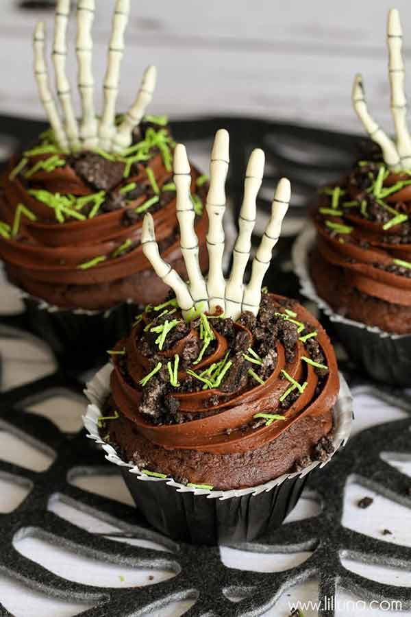 Easy Halloween Cupcake ideas for kids