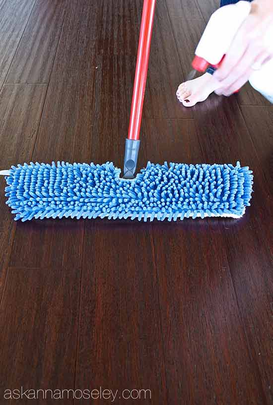 homemade cleaning products for floors and carpet