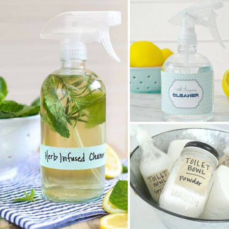 20 Amazing Non-Toxic Homemade Cleaning Products That Really Work